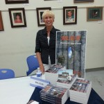 J. Elke Ertle at the San Carlos Branch Library Author Fair