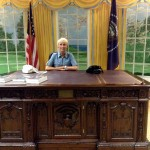 Oval Office or a Talk at the Del Mar Fair? photo © J. Elke Ertle, 2014