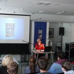 Book presentation at the Stadtbibliothek, Chemnitz