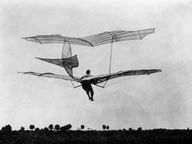 Otto Lilienthal German Pionier of Aviation He crashed on 9 August 1896