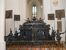 In 1323, Louis IV grated the Margraviate of Brandenburg to his son Louis V