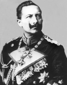Last German emperor, Kaiser Wilhelm II. He forbade the tango (taken in 1905 - archival photo)