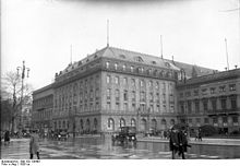 Hotel Adlon, 1927(Bundesarchiv photo)