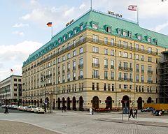 The current Hotel Adlon Kempinski Berlin
