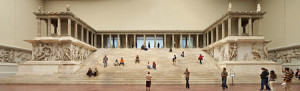 Pergamon Altar at the Pergamon Museum on Berlin's Museum Island