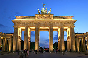 Brandenburg Gate - symbol of peace, division and unity