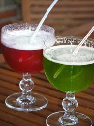 Red and Green Berliner Weisse - a popular beverage for the thirsty