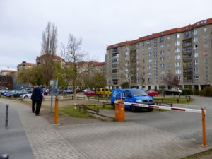 Site of former Hitler Bunker in 2014, photo © J. Elke Ertle, www.walled-in-berlin.com