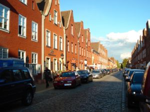 The Dutch Quarter (Hollaendisches Viertel) in Potsdam near Berlin, photo © J. Elke Ertle, 2013. www. walled-in-berlin.com