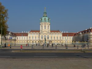 Schloss Charlottenburg (Charlottenburg Palace) in Berlin, photo © J. Elke Ertle, 2014. www.walled-in-berlin.com