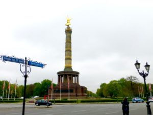 Berlin's Siegessaeule, photo © J. Elke Ertle, 2017. www.walled-in-berlin.com